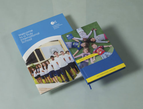 Brochures designed and printed for Canadian international school