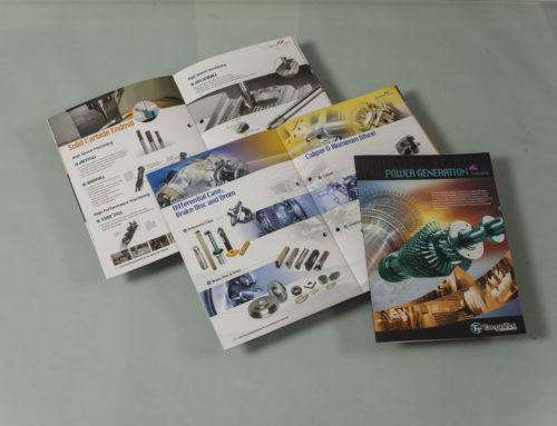Technical booklets designed and printed for taegotec