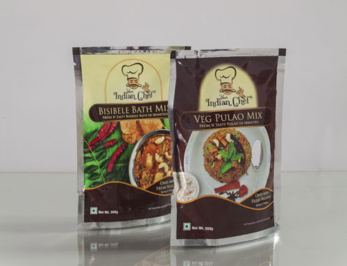 Packaging Designed and Printed for Your Indian Chef